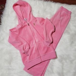 Girls Juicy Couture tracksuit